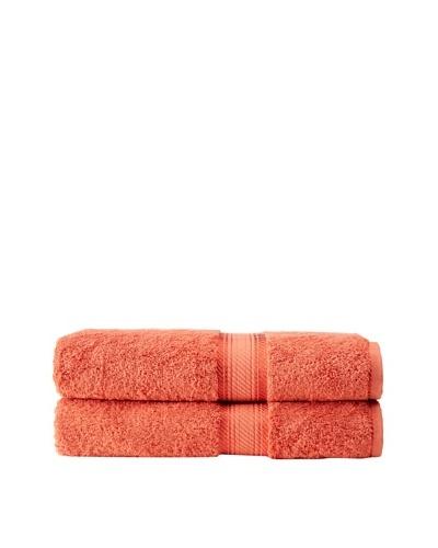 Chortex Rhapsody Royale Set of 2 Bath Sheets, Cinnamon, 35 x 60As You See