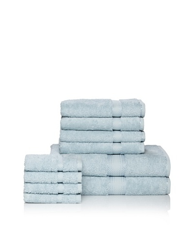Chortex Rhapsody Royale 10-Piece Towel Set, Duck Egg
