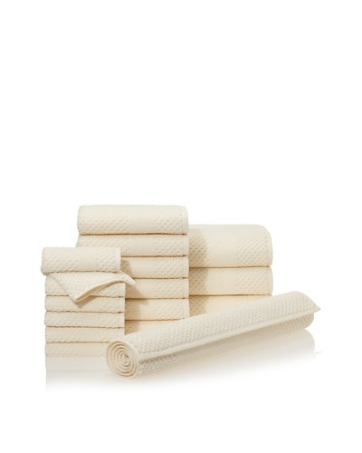 Chortex Honeycomb 16-Piece Bath Towel Set