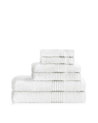 Chortex Ultimate 6-Piece Towel Set, White