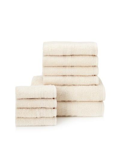 Chortex 10-Piece Imperial Bath Towel Set, Vanilla