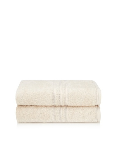 Chortex 2-Piece Imperial Bath Sheet Set, Vanilla