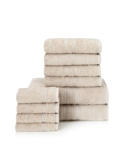 Chortex 10-Piece Imperial Bath Towel Set, Stone