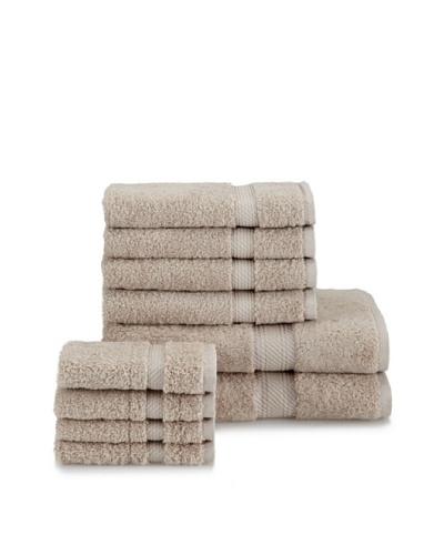 Chortex Rhapsody Royale 10-Piece Towel Set, Stone