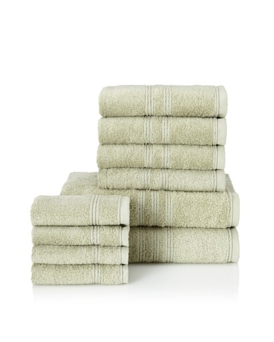 Chortex 10-Piece Imperial Bath Towel Set, Sage