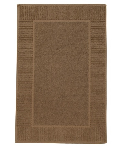 Chortex Oxford Bath Mat, Khaki, 22 x 36
