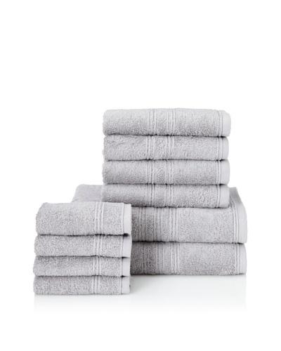 Chortex 10-Piece Imperial Bath Towel Set, Steel