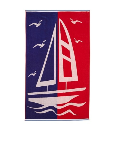 Chortex Boating, Red/Blue, 40 x 70