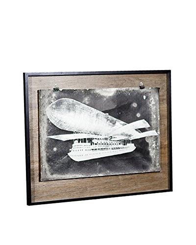 Chris Dunker for Phylum Design Fantasy Blimp, Photograph in Floating Frame