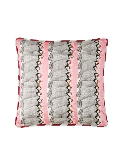 Christian Lacroix French Frou Frou Cushion, Rose, 16x16