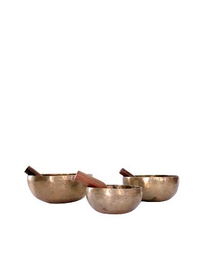 Ciel Hand-hammered Metal Bowls