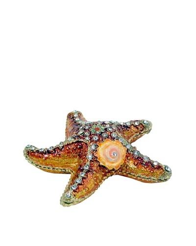 Ciel Starfish Trinket Box, Red