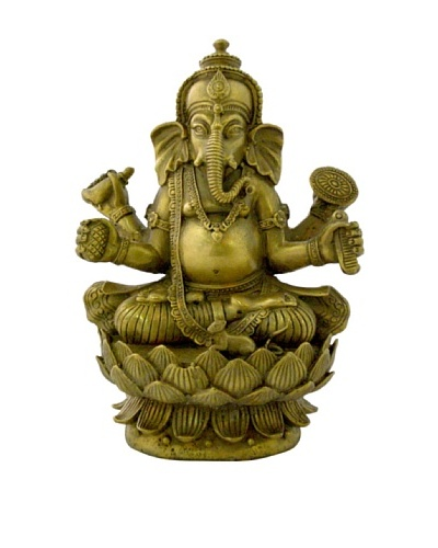 Ciel Handmade Brass Ganesh Statue
