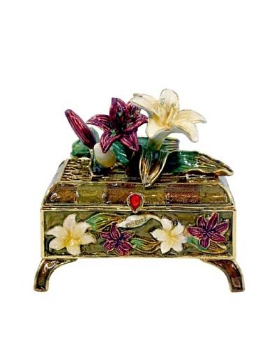 Ciel Flower Trinket Box