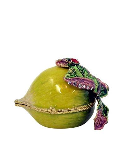 Ciel Vegetable Trinket Box, Green