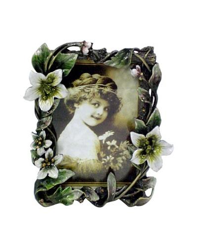Ciel Floral 3.5 x 5 Picture Frame, Green