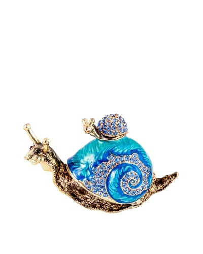 Ciel Collectables Bejeweled Snail with Baby Snail