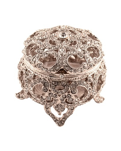 Ciel Collectables Bejeweled Decorative Round Box