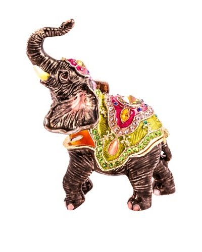 Ciel Collectables Bejeweled Elephant with Trunk Up