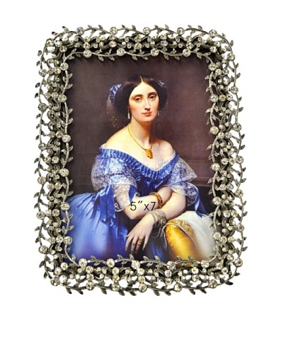 """Ciel Collectables 5"""" x 7"""" Bejeweled Picture Frame"""