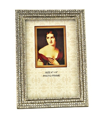 """Ciel Collectables 4"""" x 6"""" Crystal Picture Frame"""