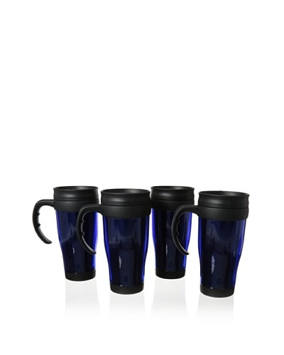 Cilio Premium Set of 4 Travel Mugs