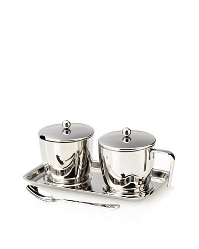 Cilio Premium Set of 4 Sugar & Creamer Set