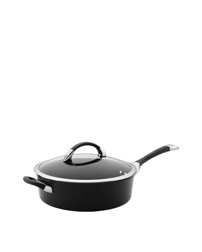 Circulon Symmetry Nonstick 5 Qt. Covered Saute with Helper Handle [Black]