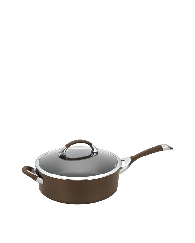 Circulon Symmetry Nonstick 5 Qt. Covered Saute with Helper Handle [Chocolate]