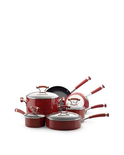 Circulon 10-Piece Contempo Non-Stick Cookware Set [Red]