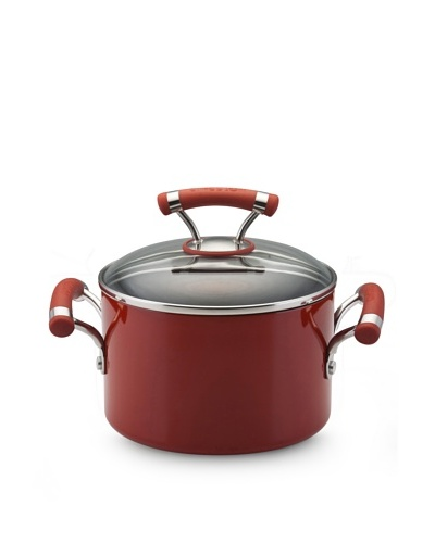 Circulon Contempo Covered Sauce Pot [Red]