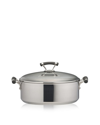 Circulon Contempo Stainless Steel Nonstick 7.5-Qt. Covered Wide Stockpot