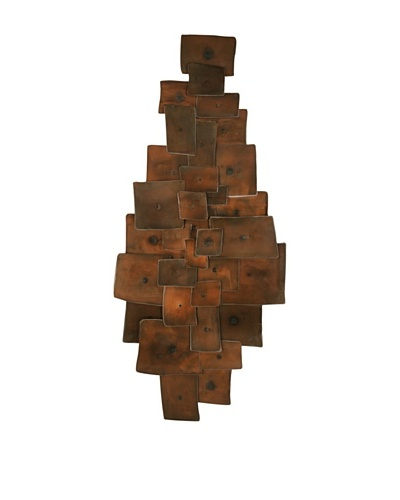 """C'Jere by Artisan House """"Tapestry II"""" 3-Dimensional Wall Sculpture"""