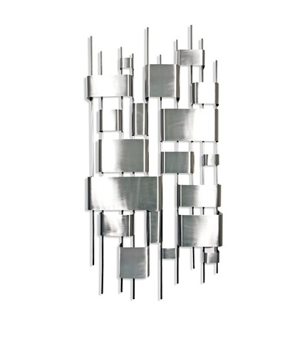 """C'Jere by Artisan House """"Conglomerate"""" 3-Dimensional Wall Sculpture"""