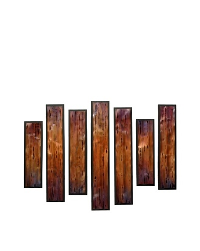 C'Jere by Artisan House Set of 7 Multiplicity Wall Installation