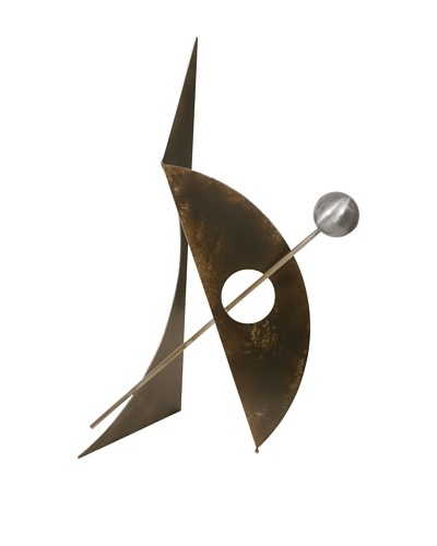 """C'Jere by Artisan House """"Double Play"""" 3-Dimensional Steel Sculpture"""