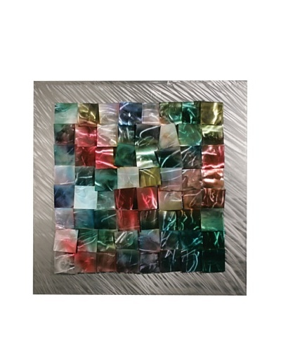 "C'Jere by Artisan House ""Patchwork"" 3-Dimensional Wall Sculpture"