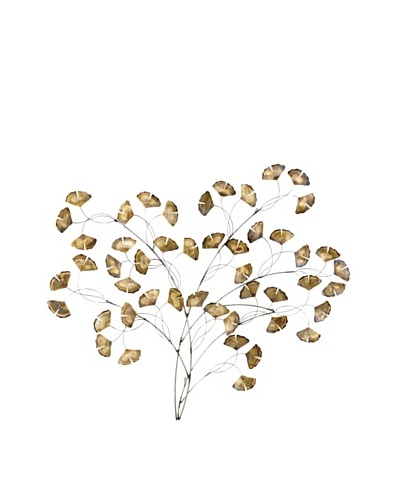 C'Jere by Artisan House Gingko Tree Stainless Steel Wall Sculpture
