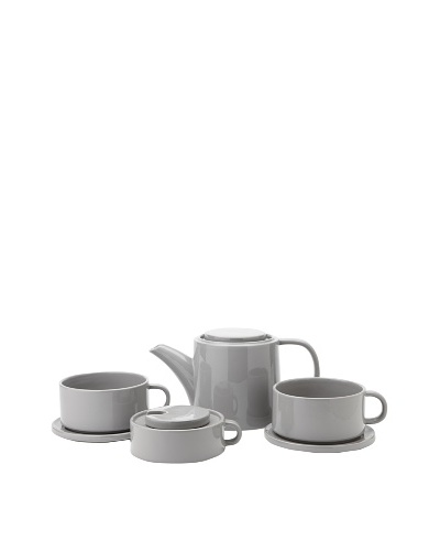 Classic Coffee & Tea Tea For Two Set [Light Grey]