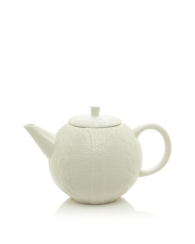 Classic Coffee & Tea Sweater Collection 40-Oz. Teapot