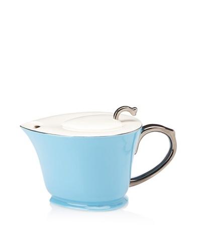 Classic Coffee & Tea Teapot [Turquoise Blue/Platinum]