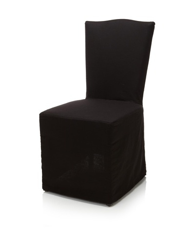 Classic Home Set of 2 Vista Dining Chairs, Onyx
