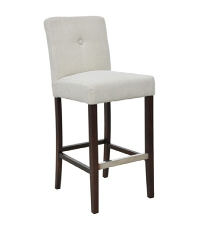 Classic Home Malone Barstool, Jute/Colonial BrownAs You See