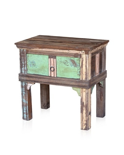 Classic Home Odessa 1-Drawer End Table, Multi
