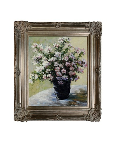 Claude Monet Vase of Flowers