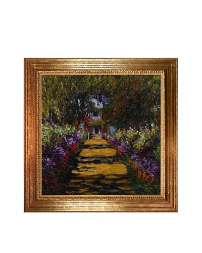 Claude Monet Garden Path at Giverny