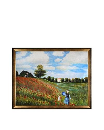 Claude Monet Poppy Field in Argenteuil