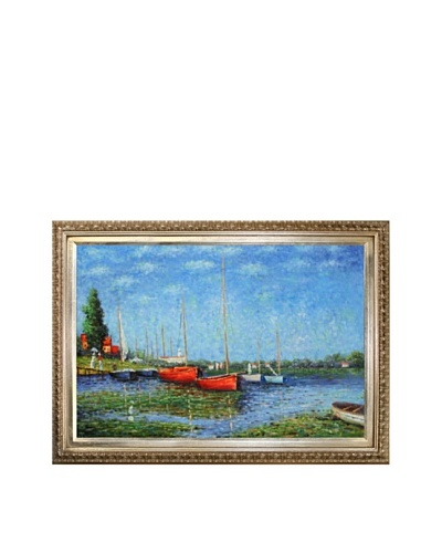 Claude Monet Red Boats at Argenteuil