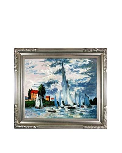 Claude Monet Regates at Argenteuil