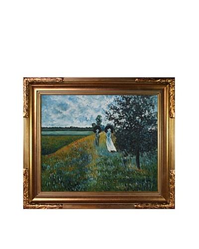 Claude Monet Walking Near ArgenteuilAs You See